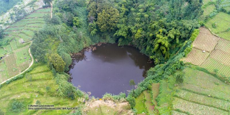 Sinila Crater